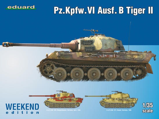 Pz.Kpfw. VI Ausf. B Tiger II Weekend 1/35