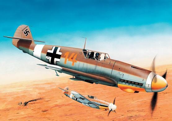 Bf 109F 1/144