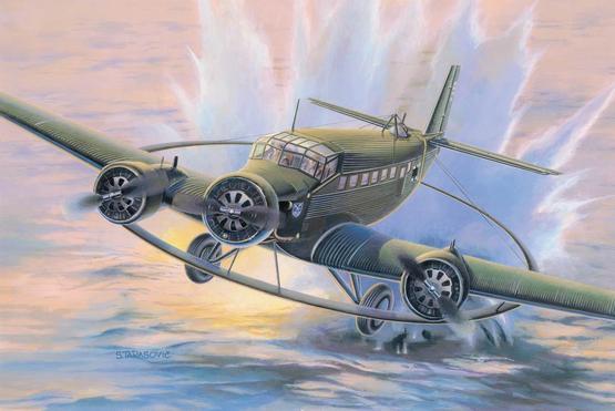 Junkers Ju 52/3m Minesweeper 1/144