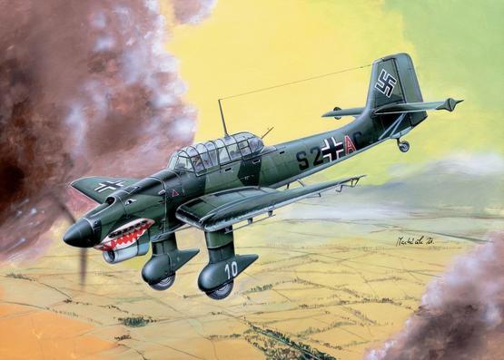 Ju 87B  Stuka 1/144