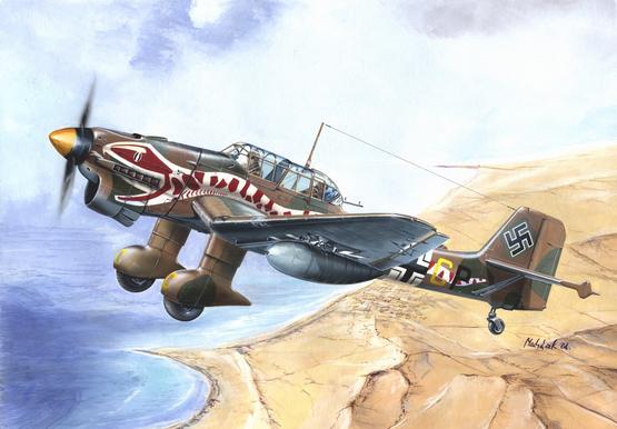 Ju 87R  Stuka 1/144