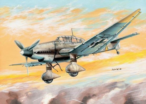 Ju 87D Stuka 1/144