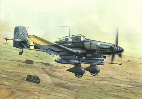 Ju 87G Stuka 1/144
