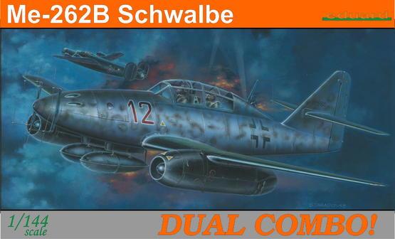 Me 262B Schwalbe DUAL COMBO 1/144