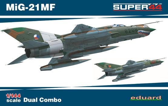 MiG-21MF DUAL COMBO 1/144