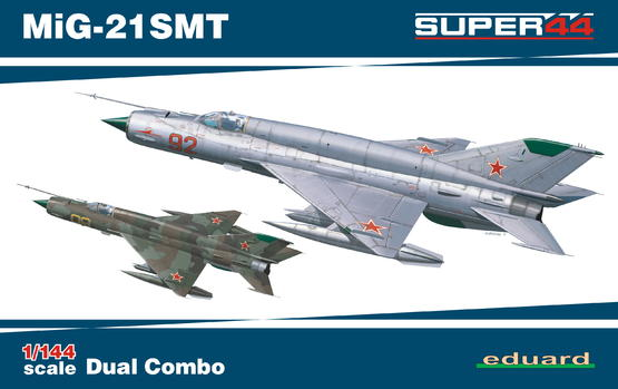 MiG-21SMT DUAL COMBO 1/144