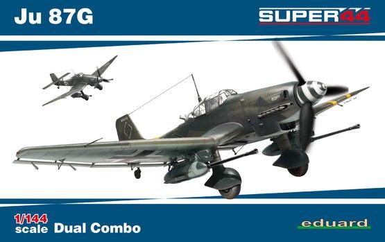 Ju 87G  DUAL COMBO 1/144