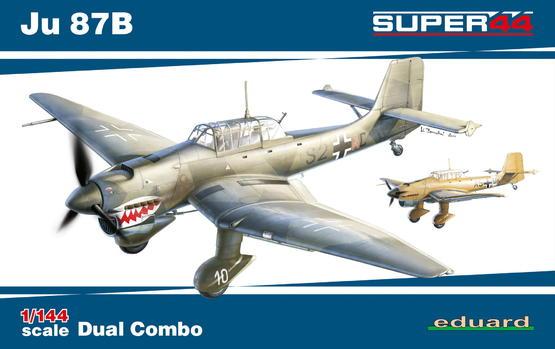 Ju 87B DUAL COMBO 1/144