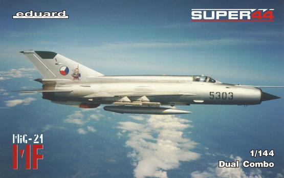МФ / МиГ-21 в Чехословацких ВВС Dual Combo 1/144