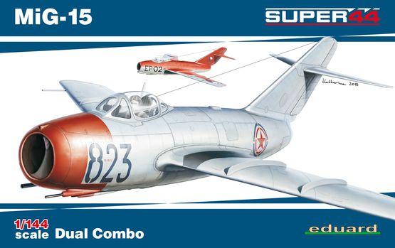 MiG-15 DUAL COMBO 1/144