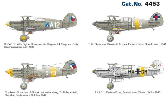 Avia B.534 IV. serie 1/144