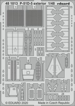 P-51D-5 exterior 1/48