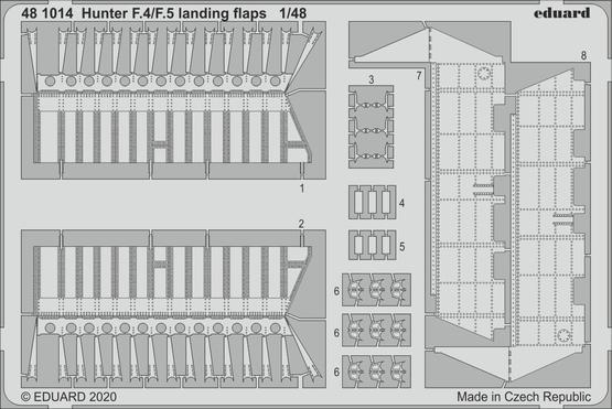 Hunter F.4/F.5 landing flaps 1/48
