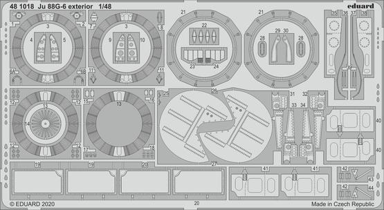 Ju 88G-6 exterior 1/48