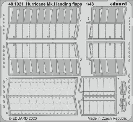 Hurricane Mk.I landing flaps 1/48