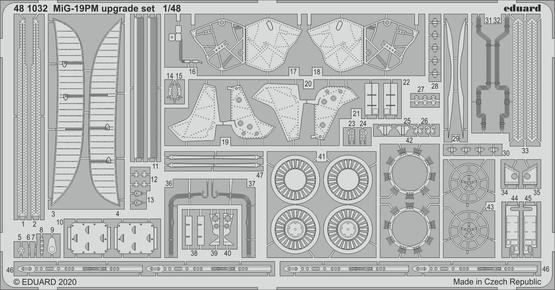 MiG-19PM upgrade set 1/48