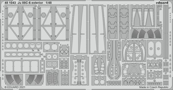 Ju 88C-6 exterior 1/48