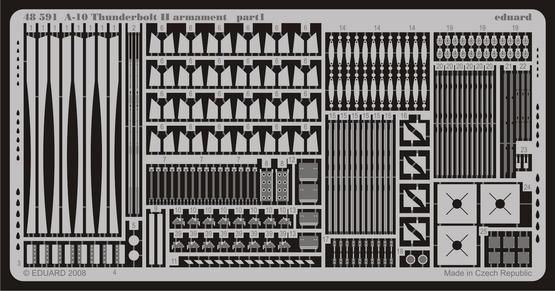A-10 armament 1/48  - 1