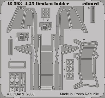J-35 Draken ladder 1/48