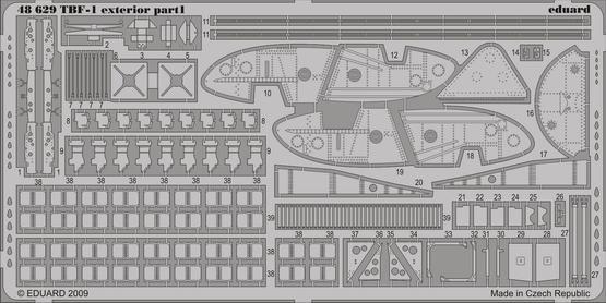 TBF-1 exterior 1/48  - 1