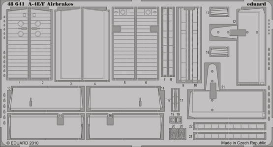A-4E/F brzdící štíty 1/48