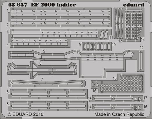 EF-2000 ladder 1/48