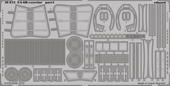 EA-6B exterior 1/48  - 1