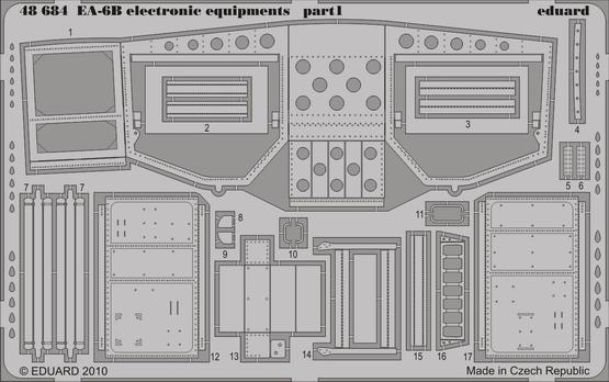 EA-6B electronic equipments 1/48  - 1