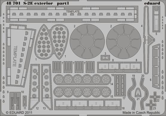 S-2E exterior 1/48  - 1