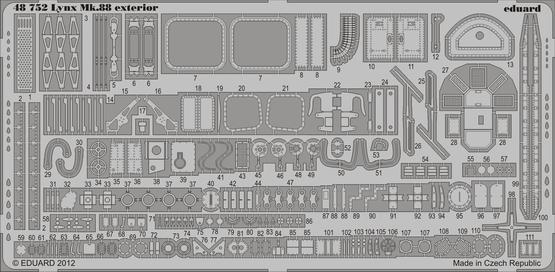 リンクス Mk.88 外装 1/48