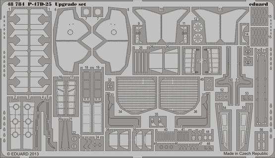P-47D-25 upgrade set 1/48