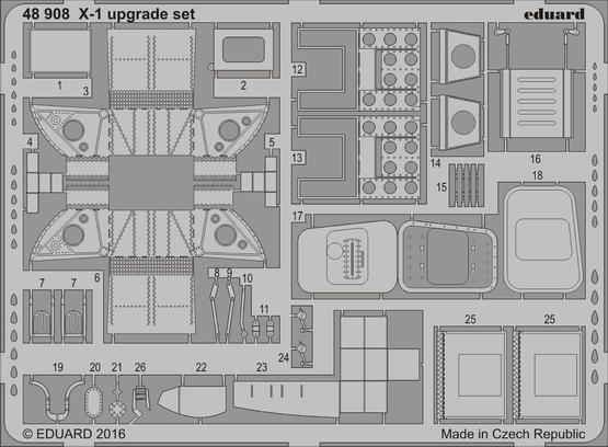 X-1 upgrade set 1/48