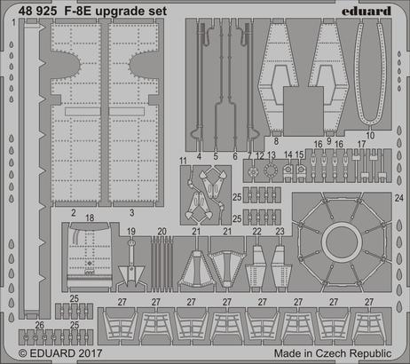 F-8E upgrade set 1/48