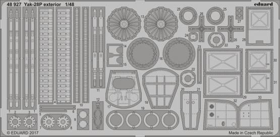 Yak-28P exterior 1/48