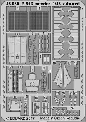 P-51D exterior 1/48