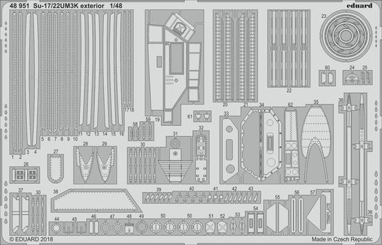 Su-17/22UM3K exterior 1/48