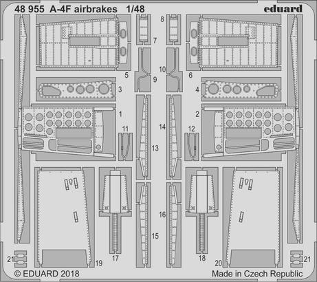 A-4F brzdící štíty 1/48