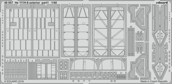 He 111H-6 exterior 1/48  - 1