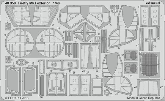 Firefly Mk.I exterior 1/48