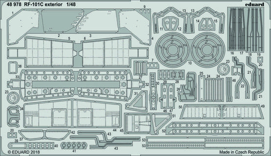 RF-101C exterior 1/48