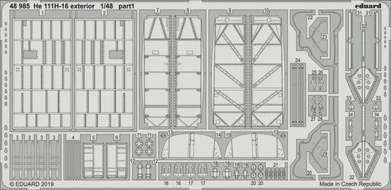 He 111H-16 exterior 1/48  - 1
