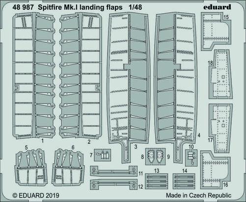 Spitfire Mk.I landing flaps 1/48