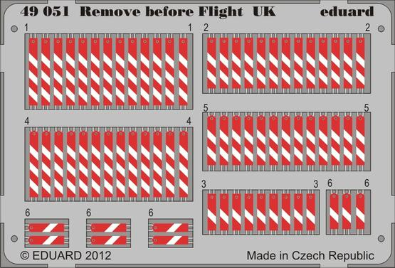 Remove before flight UK 1/48