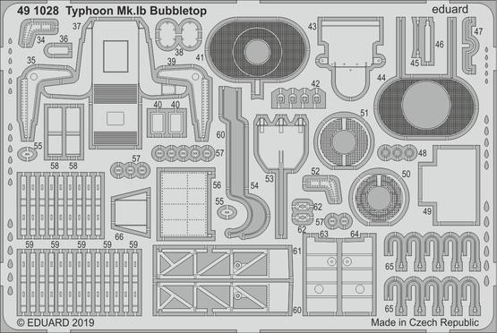 Typhoon Mk.Ib Bubbletop 1/48