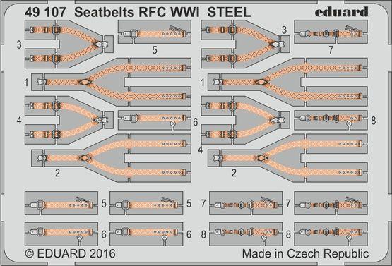 Upínací pásy RFC 1.sv.v. OCEL 1/48