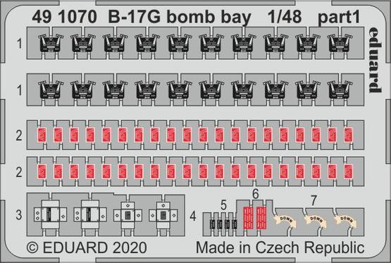 B-17G bomb bay 1/48  - 1