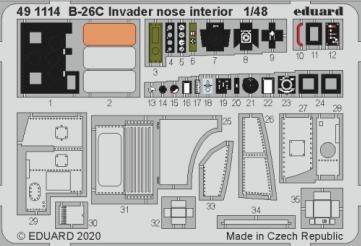 B-26C Invader nose interior 1/48