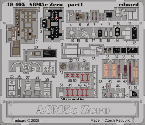 A6M5c Zero S.A. 1/48  - 1