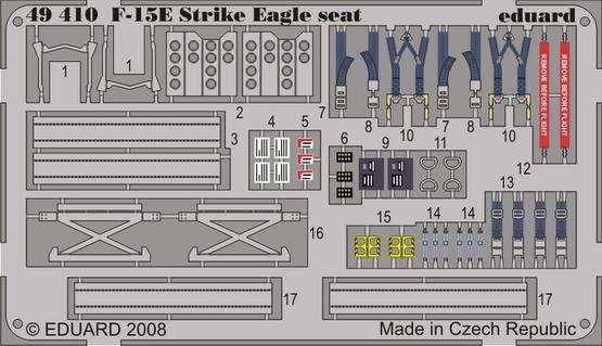 F-15E seat 1/48