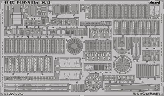 F-16C/N Block 30/32 S.A. 1/48